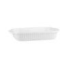Ribbed Rectangular Baking Dish - Handled