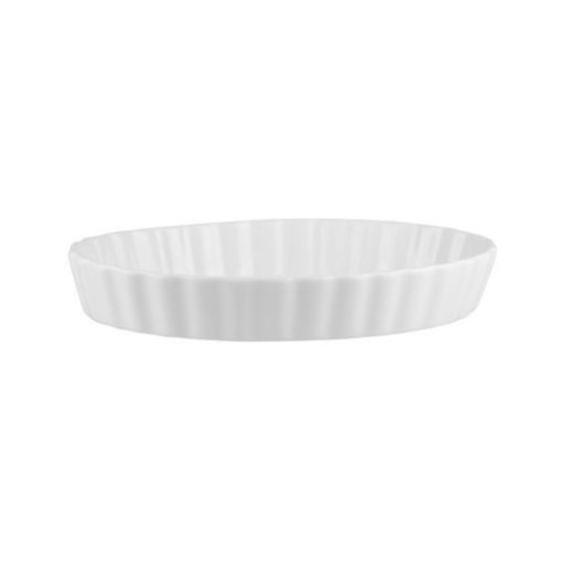 Ribbed Oval Baking Platter