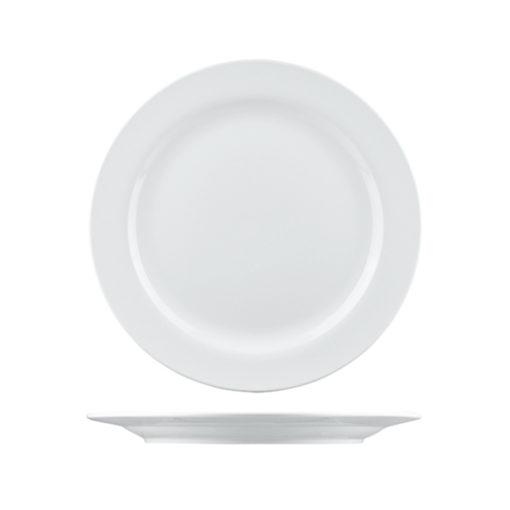 Arlington Round Plates Wide Rim