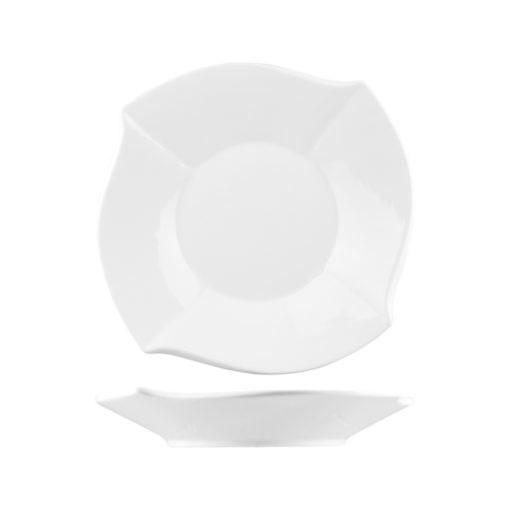 Classicware Wavy Square Plates