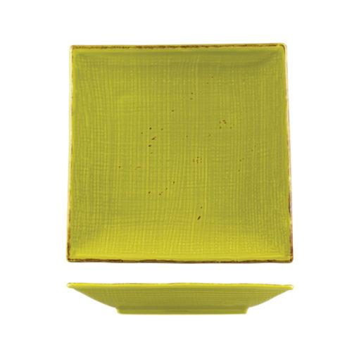 CLASSICWARE PLATE SQUARE BAMBOO 250x250mm