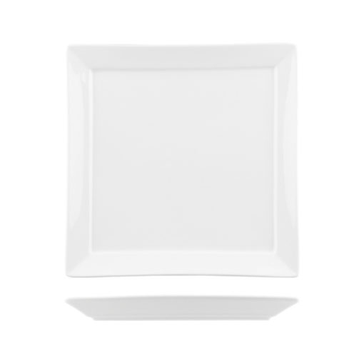 Classicware Narrow Rim Square Plates