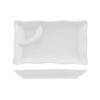 Classicware Rectangular Platter with Sauce Section