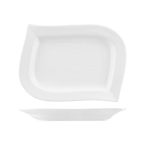 Classicware Wavy Plates