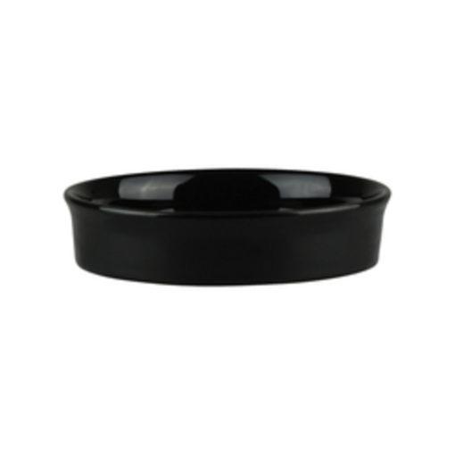 Classicware Round Black Tapas Dishes