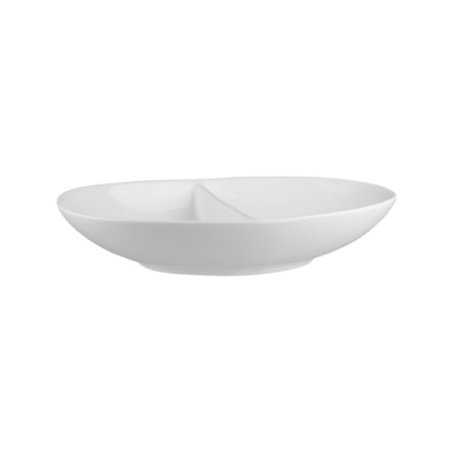 Classicware Divided Oval Bowls