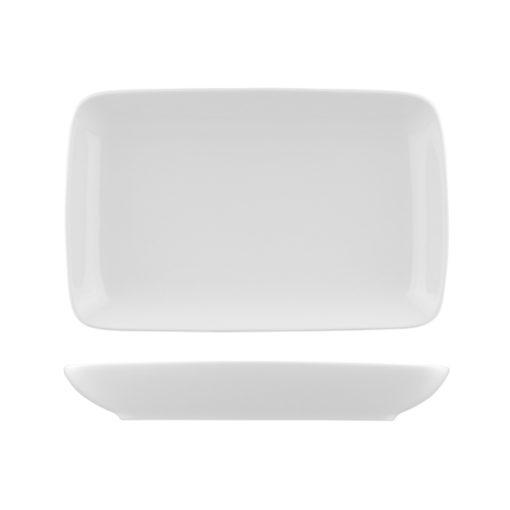 Classicware Square Plates Wide Rim