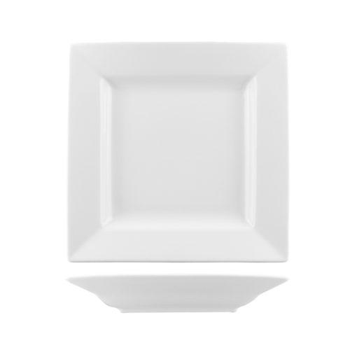 Classicware Deep Square Plates Wide Rim