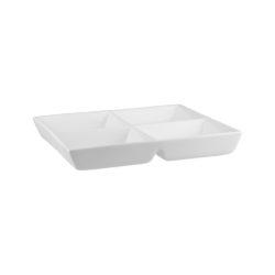 Classicware 4 Compartment Square Platter