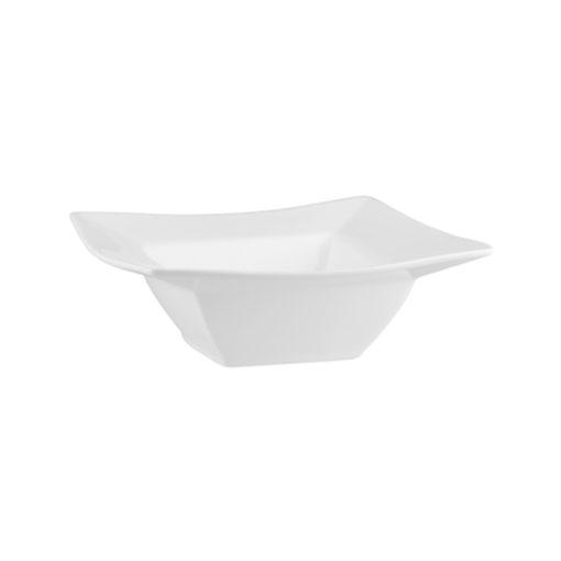 Classicware Flat Rim Deep Square Bowls