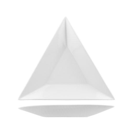 Classicware Wide Rim Triangular Plates