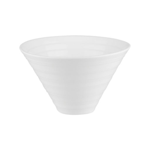 Classicware Ribbed Conical Bowls