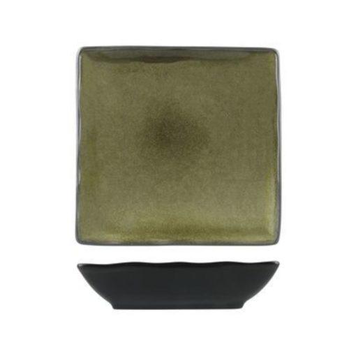 Uniq GreenGrey Square Coupe Bowl