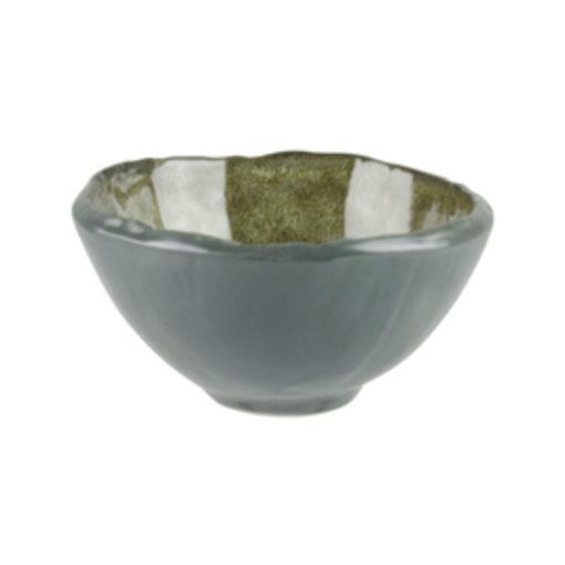 Uniq GreenGrey Flat Bottom Bowls