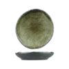 Uniq GreenGrey Large Round Dish