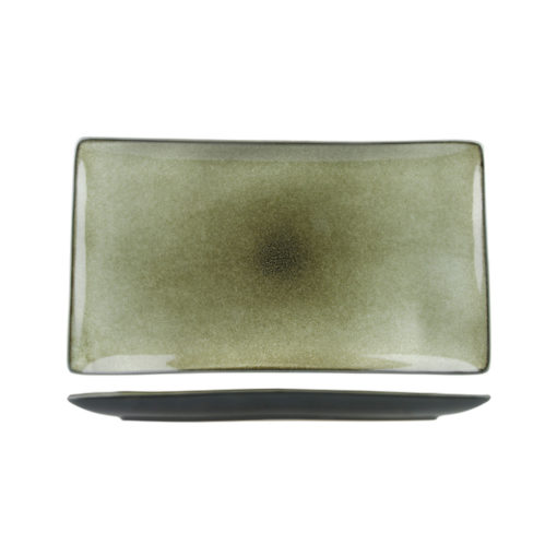 Uniq GreenGrey Rectangular Platters