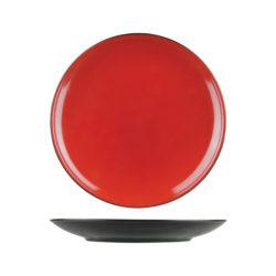 Uniq RedBlack Round Coupe Plates