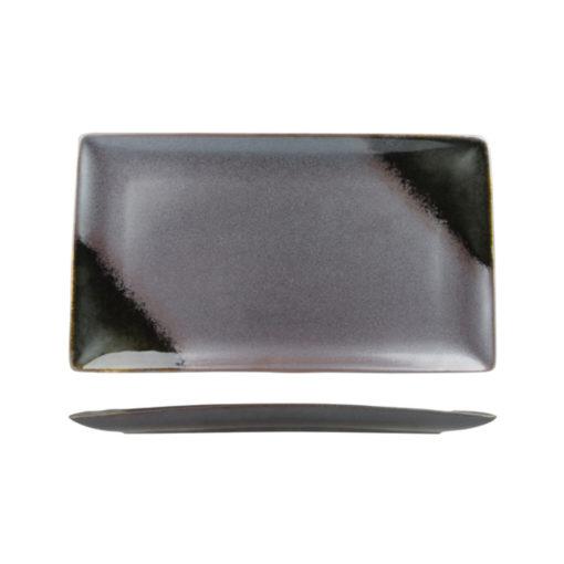 Uniq Metallic Matte Rectangular Platters