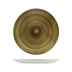 Round Coupe Plates 200mm