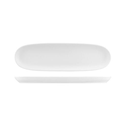 Natural Satin Baguette Platters