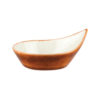 Natural Satin Leaf Dishes - Small
