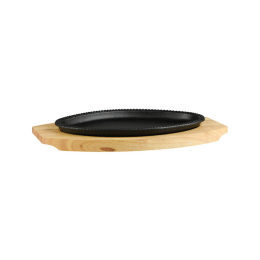 Oval Hot Plate Set