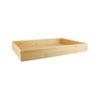 Rectangular Bamboo Serving Trays - Deep
