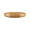 Oval Bamboo Serving Bowls