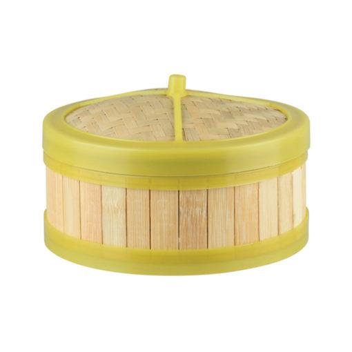 Plastic Rim Bamboo Steamers
