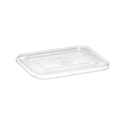 PET Lid for Rectangular Container