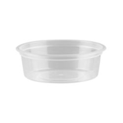 Small Round Clear Containers