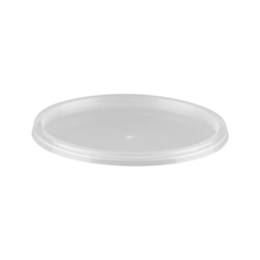 Large Round Clear Lids