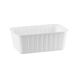 Ribbed Rectangular Containers