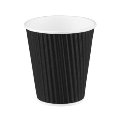 Ripple Wrap Cup - Black