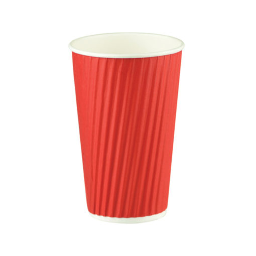 Ripple Wrap Cup - Red