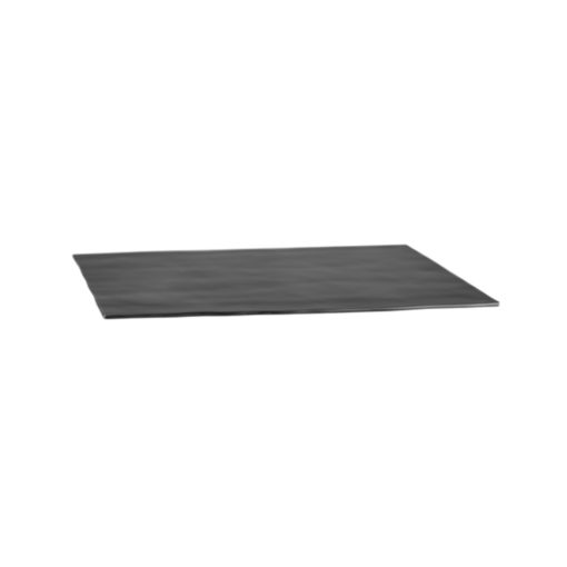 Matte Black Rectangular Platter