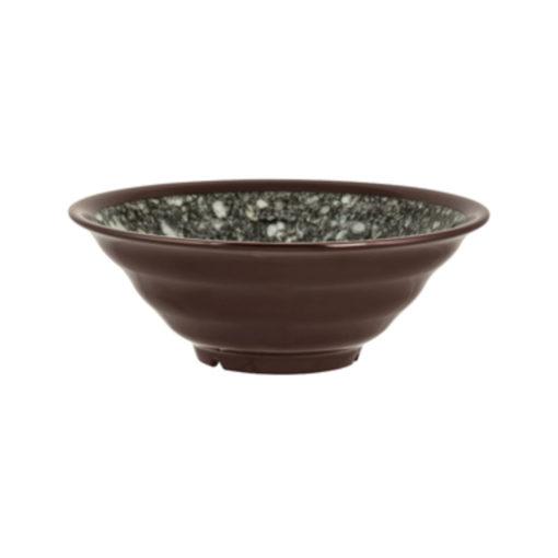 Grey Marble Interior Round Bowl